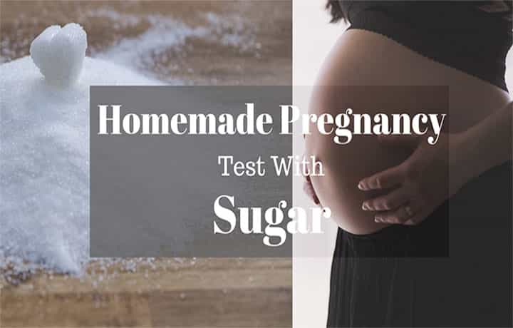 Homemade Pregnancy Test with Sugar and Other Ingredients?