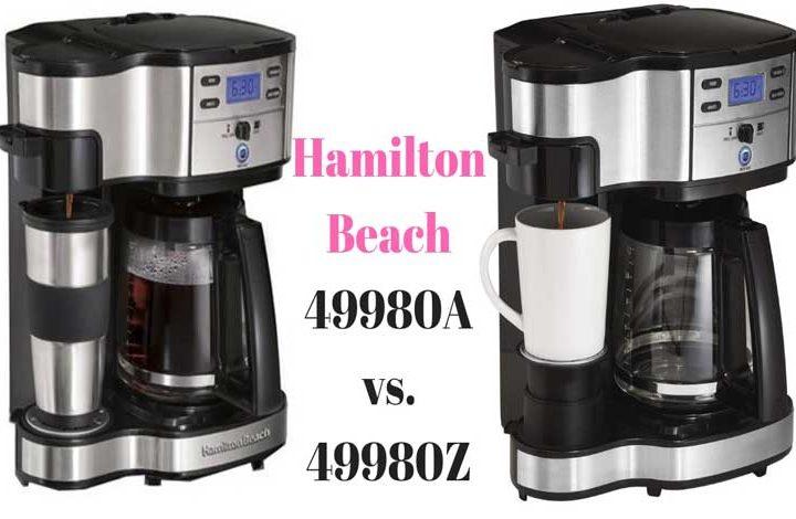 Hamilton Beach 49980A vs. 49980Z Reviews