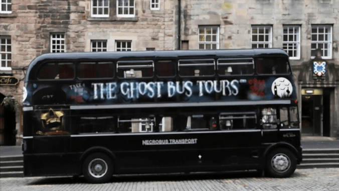 the ghost bus tours in Scotland